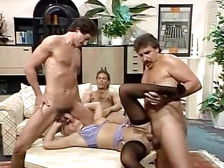 Amanda Shear - Lady Group-fucked By Gentlements