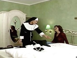 German Nun Tempt To Fuck By Prister In Classical Pornography Movie