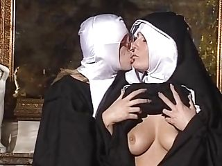 Girly-girl Nuns Gobble Each Other