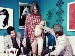 Preggo Enthusiasm - 1970s Antique Erotica